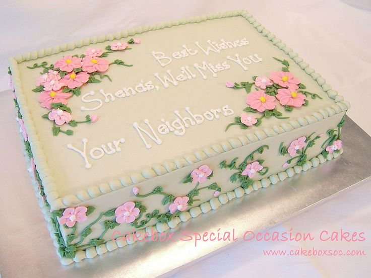 Farewell Cake | by Cakebox Special Occasion Cakes