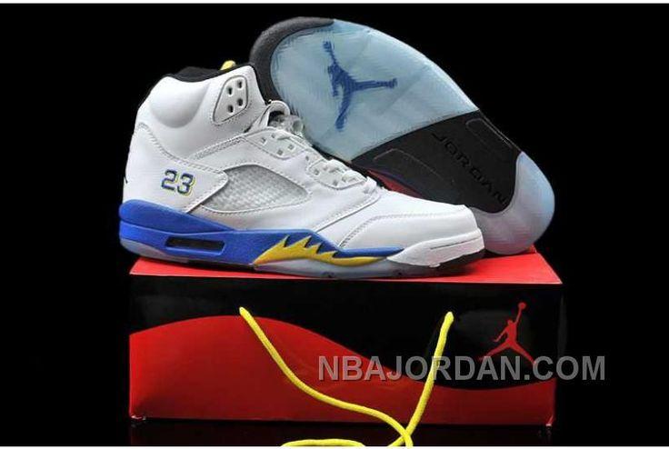 Free Shipping  6070 OFF Greece Nike Air Jordan Vi 6 Retro Womens Shoes White Yellow Blue Hot New