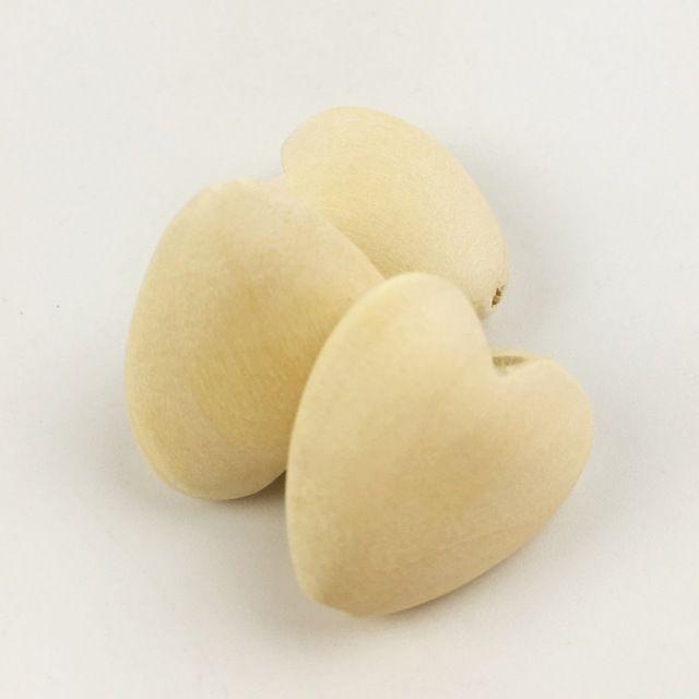 Коренастый деревянные сердца незаконченный Неокрашенный круглый жира любовь shaped DIY ремесла ручной работы деревянные бусины прекрасный дом/прополка декор 40 мм