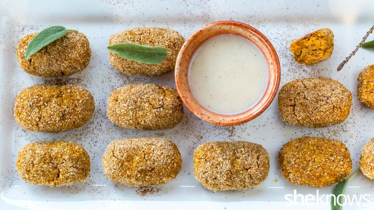 Skip the deep-fried potato bites — baked squash croquettes are the better choice to keep your resolutions
