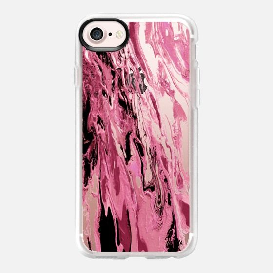 """WITH THE TIDES, ROSE PINK"" By Artist Julia Di Sano, Ebi Emporium on #Casetify @Casetify #EbiEmporium #CasetifyArtist #pink #blush #rose #magenta #waves #iphonecase #iphone6 #iphone6s #iphone7 #iphone7plus #samsung #case #clearcase #transparent #tech #summer #swirls #girly #feminine #chic #musthave #2017 #beach #ocean #splash #trendy #boho"