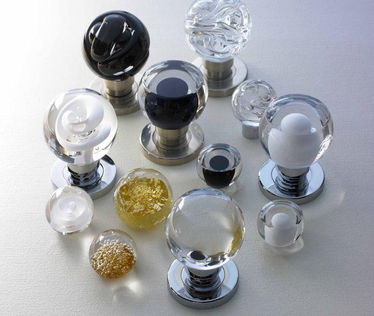 Glass Knobs #motherofpearl #hardware #MOP #knobs #homdeco #renovation