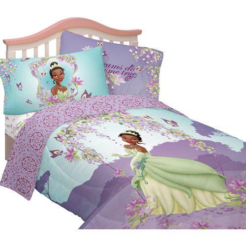Kids Disney Princess The Frog Tiana Comforter Sheets