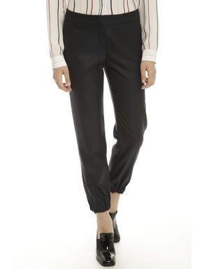 Prezzi e Sconti: #Pantalone in misto lana e seta Blu marino  ad Euro 62.00 in #2eccelso #Abbigliamento pantaloni