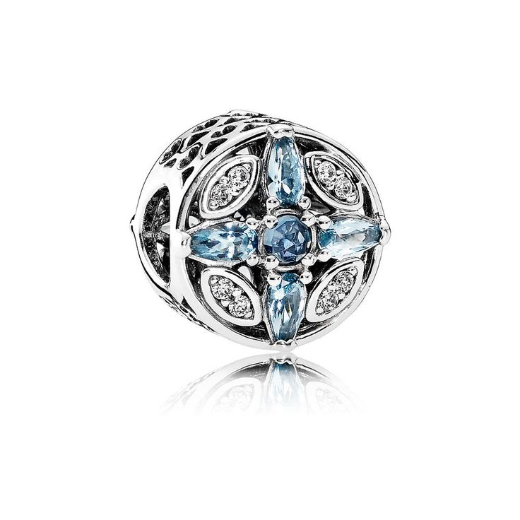 Patterns of Frost, Multi-Colored Crystal & Clear CZ | PANDORA Jew $75