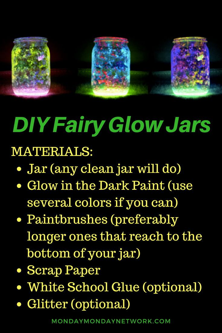Diy Fairy Glow Jars Glow Jars Fairy Glow Jars Glow Crafts