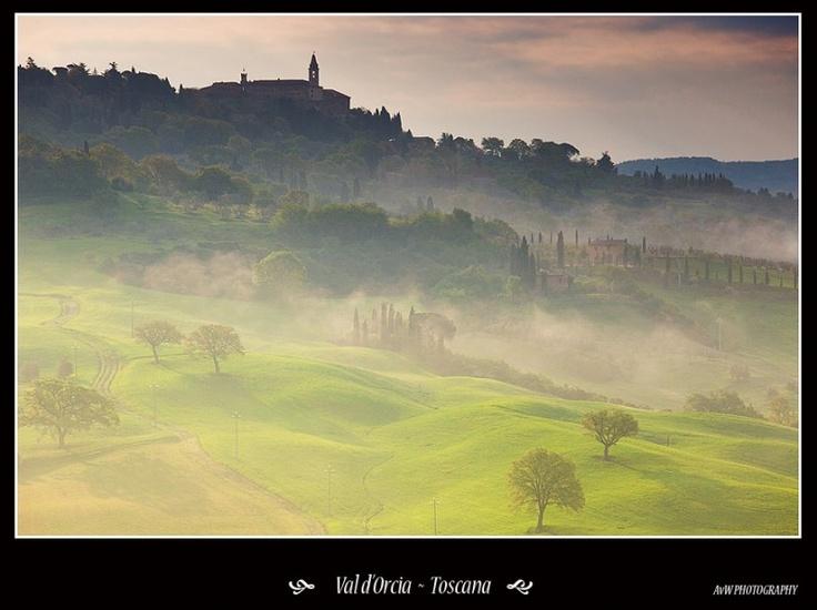 Val d'Orcia - Toscane