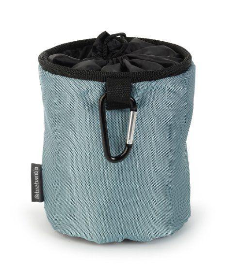 Brabantia 105784 Premium Sac pour Pinces à Linge  Noir/Bleu/Mint