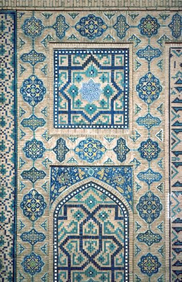 Pattern in Islamic Art - Shirdar Madrassa (Registan complex)