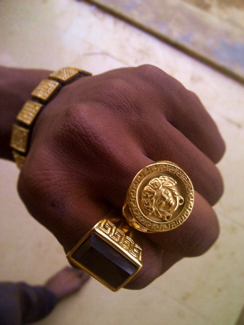 Gold Jewelry Her Wardrobe Pinterest Versace Jewelry