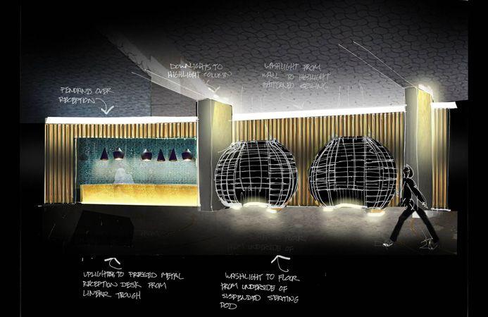Sketches lighting pinterest sketches lighting for Interior design lighting techniques