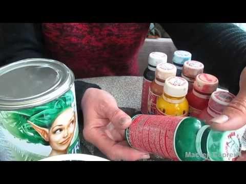 Как экономить на красках и лаке