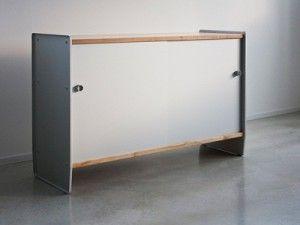 Muebles en Metal Estampado, Diseño de Mobiliario1