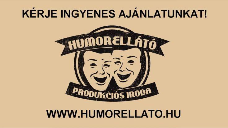 Humorellátó Produkciós Iroda - Bemutatkozás  HUMORISTÁK, STAND-UP COMEDY ELŐADÓK, SHOWDER KLUB FELLÉPŐK, RÁDIÓ KABARÉ MŰVÉSZEK MEGRENDELÉSE, KÖZVETLEN AZ ELŐADÓKTÓL, KIVÁLÓ ÁRAKON!  http://www.humorellato.hu/  musor@humorellato.hu +36 20 3281566