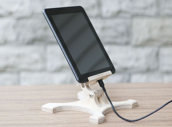 hölzerne Ständer iPad Stand Tablet stand Ständer Küche von TreeSky