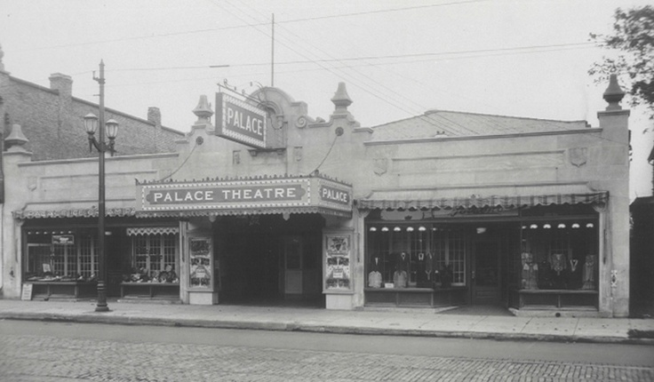 This is the beautiful Palace Theatre in the Old East Village London Ontario.  Built in 1929 as a silent movie theatre it has now been converted by the London Community Players into a live theatre.