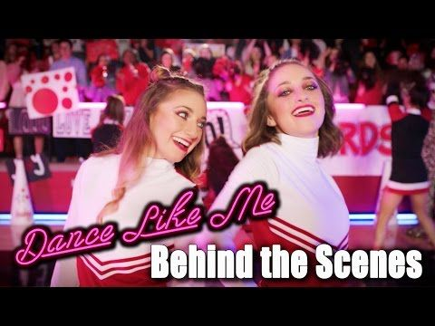 Behind the Scenes of Dance Like Me (Official Music Video) | Brooklyn and Bailey - YouTube