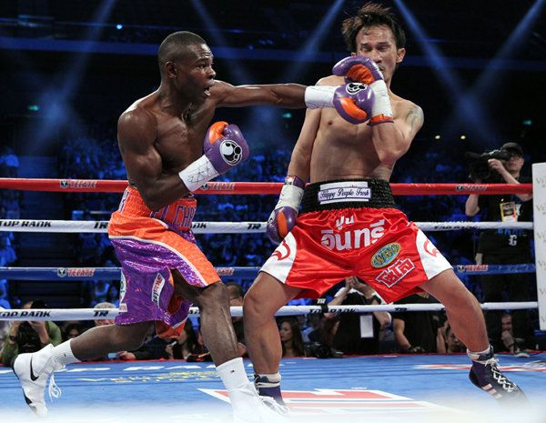 Guillermo Rigondeaux wins by first-round KO, hits the open market   I disagree with most of this article, but admire the boxer.