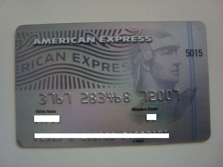 American Express Platinum 376728 Mexico