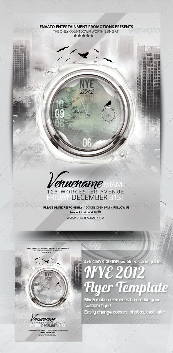 Apocalypse NYE 2014 Flyer Template