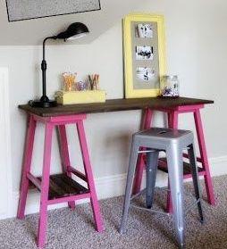 Se faltar #mesa e sobrar #banquetas, você já sabe o que fazer. Gostou da #ideia? #decoração #DIY #facavocemesmo