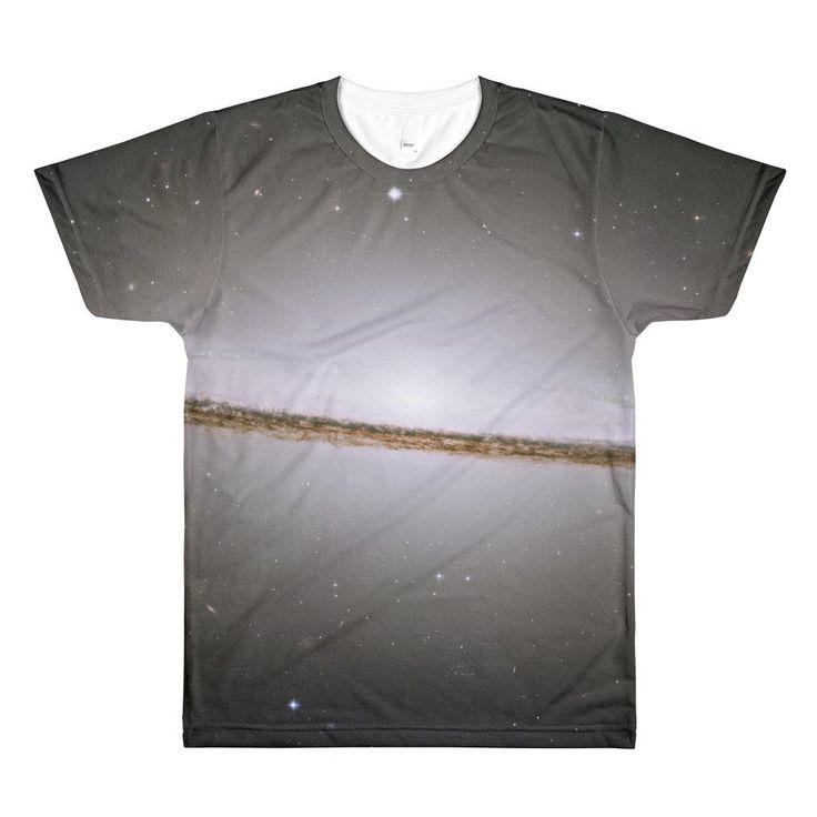 Sombrero galaxy  men's crewneck t-shirt