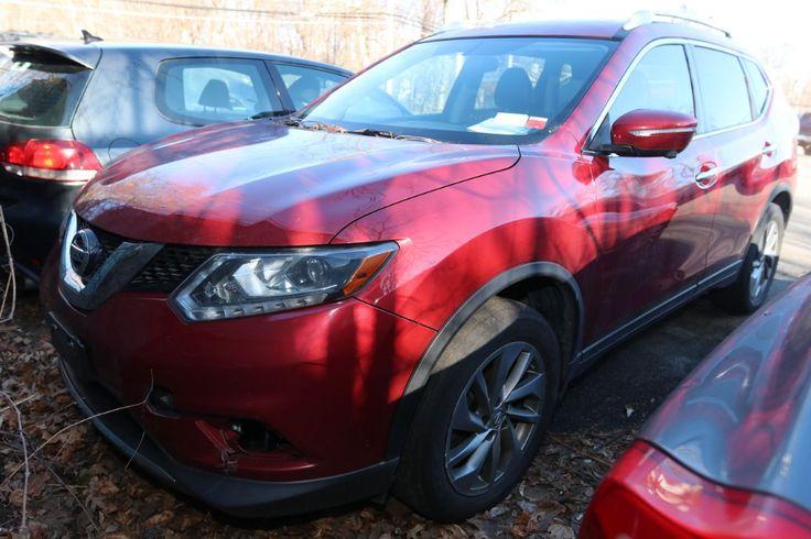 Item 1 2015 Nissan Rogue SL. VIN 5N1AT2MV6FC900644