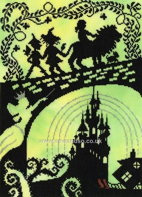 Shop online for Wizard of Oz Cross Stitch Kit at sewandso.co.uk. Browse our great range of cross stitch and needlecraft products, in stock, with great prices and fast delivery.