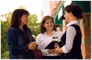 Missionaries! Yes, they're girls too!