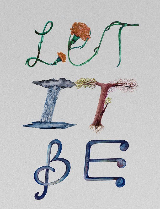 Lyric Typography - Ei Ka,Lettering, Artist Study Resources for Art Students, CAPI ::: Create Art Portfolio Ideas at milliande.com , Inspiration for Art School Portfolio Work, Letters, Alphabet, Art Journal, Lettering