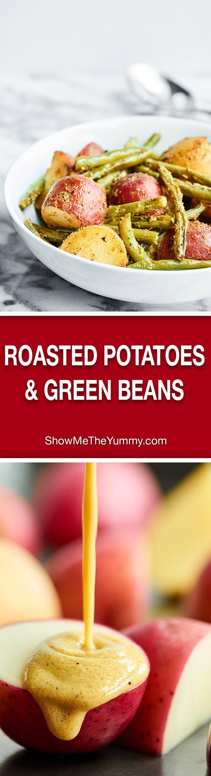 Mustard Roasted New Potatoes Recipe — Dishmaps
