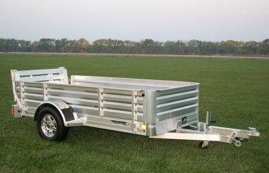 Aluminum Utility Trailer - Bi-Fold Ramp | Hillsboro Trailers and Truckbeds | Hillsboro Trailers and Truckbeds