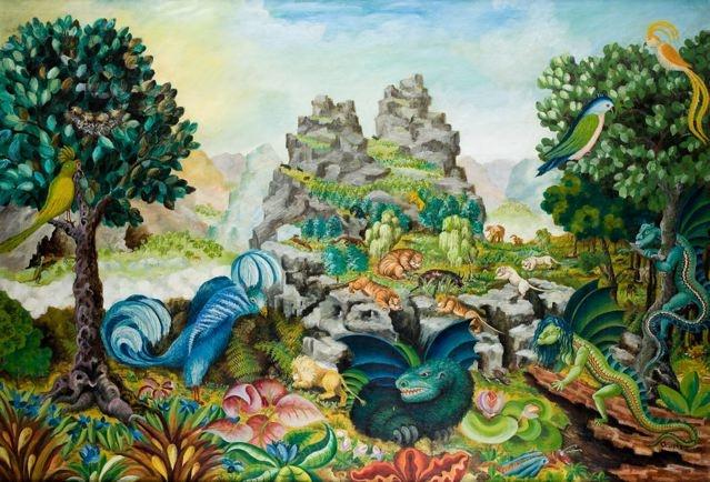 "Teofil Ociepka ""Dżungla wielka"", 1959"
