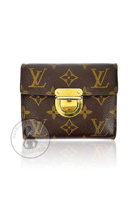 "LOUIS VUITTON Monogram ""Joey"" Wallet - HauteClassics"
