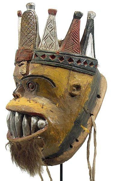 Mask  Urhobo  hamillgallery.com