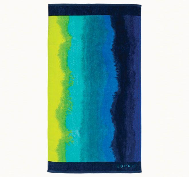 Esprit Blurred 86x160cm Beach Towel Cool