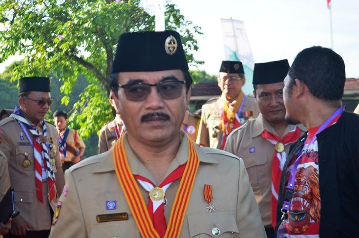Megawati Soekarnoputri dianugerahi Lencana Tunas Kencana dari Pramuka