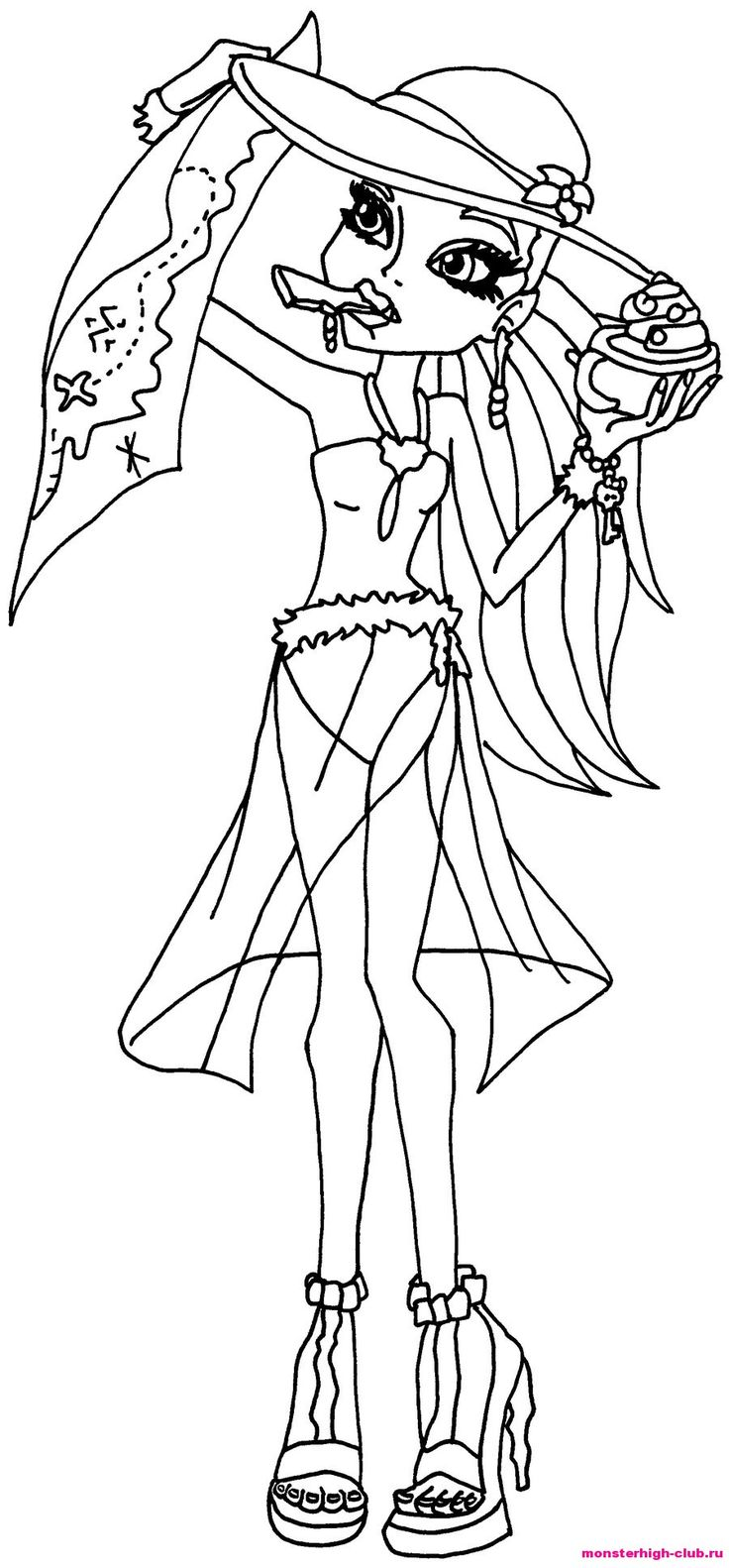 15 best monster high love images on pinterest drawing, beautiful Princess Coloring Pages Monster High Dolls Coloring Printables Abby Monster High Boys Coloring Pages