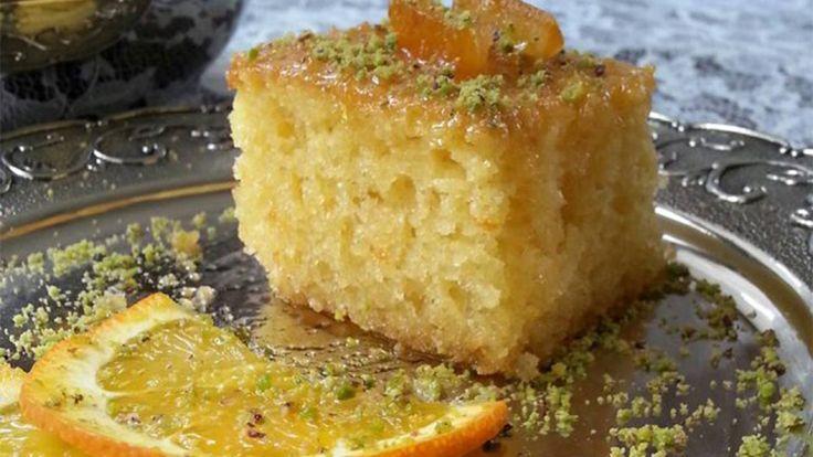 Portakallı Revani Tarifi – Evde Kendin Yap