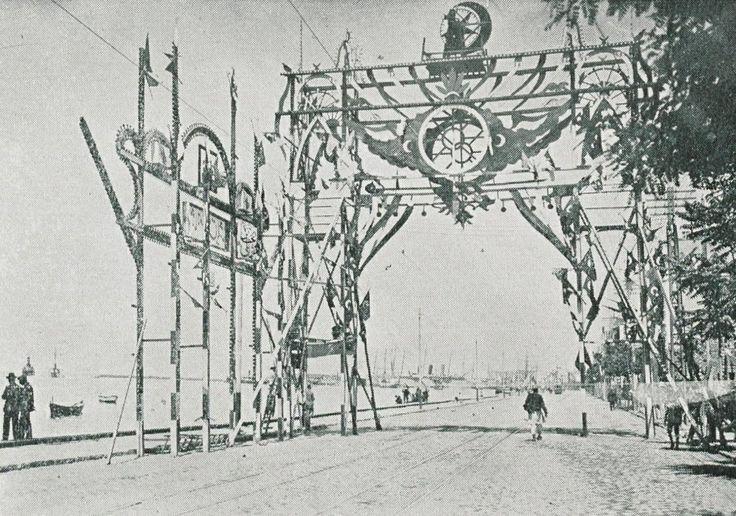 Sultan Mehmed V in Salonica (Thessaloniki), 1911 (Sultan Reşad'ın Selanik Ziyareti)