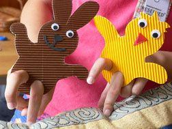 Vingerpopjes / fingerpuppets / prstové loutky