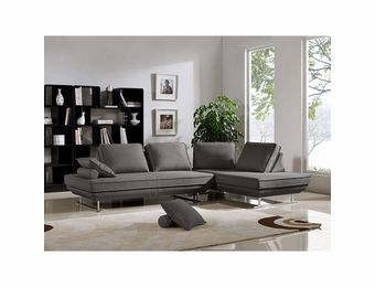 Dolce 2-Piece Lounge Seating Platforms with Moveable Backrest Supports