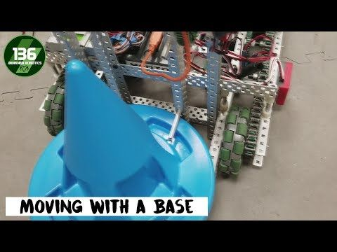 VEX In The Zone - Moving with a Mobile Base - YouTube