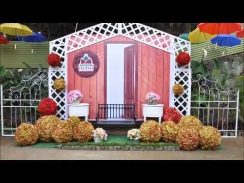 Dekorasi Photo Booth Unik Romantis