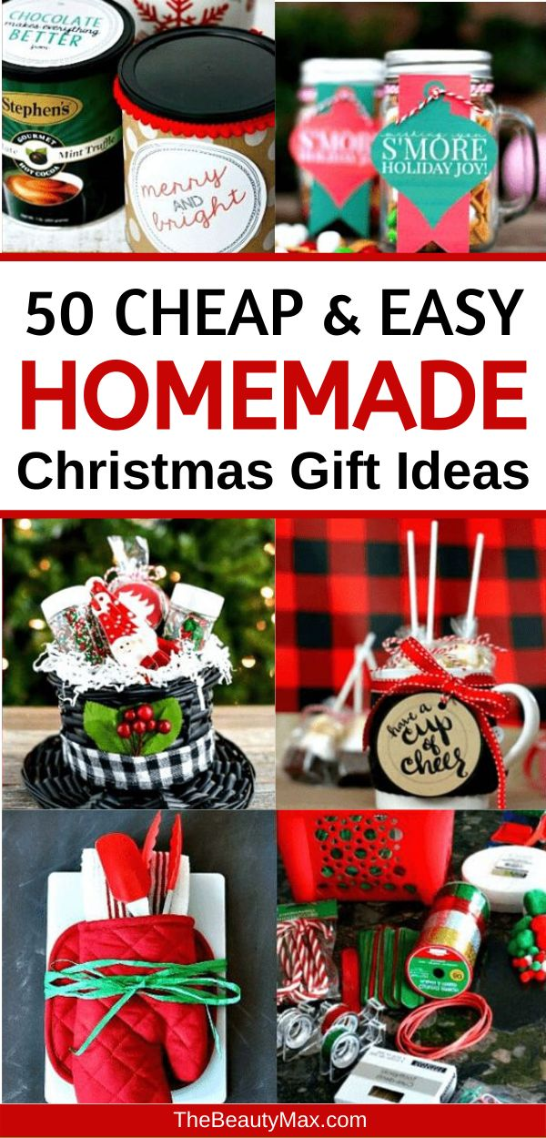 100+ Awesome DIY Christmas Gift Ideas & Tutorials - Cheap ...