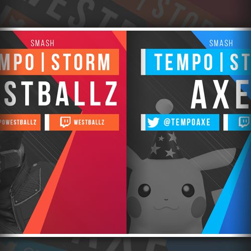"Bekijk dit @Behance-project: ""Tempo Storm - Stream Graphics"" https://www.behance.net/gallery/33859904/Tempo-Storm-Stream-Graphics"