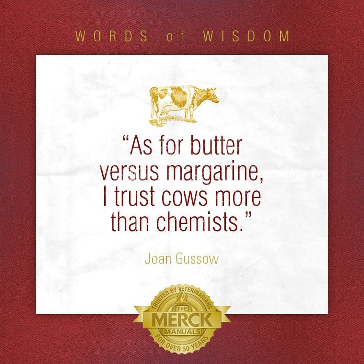 My thoughts exactly on why you should eat butter over margarine-- Less processed, more natural= better! Who wants to eat a chemical filled alternative that doesn't even taste as good? No thanks, I'll pass.