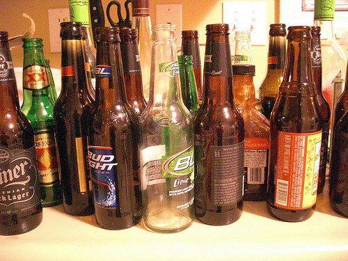 Beer Bottles Scene 1
