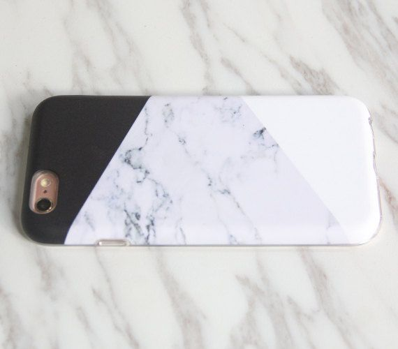 NEW iPhone 8 case Marble Print gift woman Geometric iPhone 7
