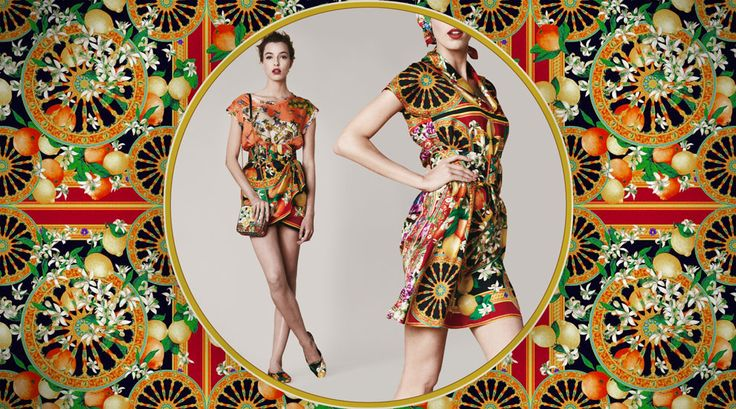 Dolce and Gabbana Photography Illustration